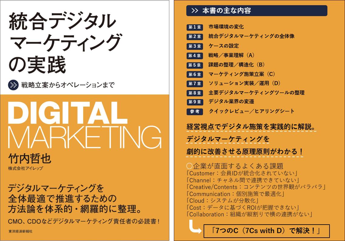 書籍『統合デジタルマーケティングの実践~戦略立案からオペレーションまで~』 出版のお知らせ