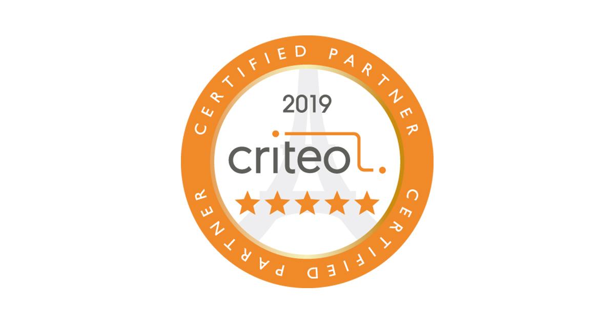 アイレップ、Criteo Certified Partnersにおいて 最高評価代理店であるファイブスター(★★★★★)を4期連続獲得